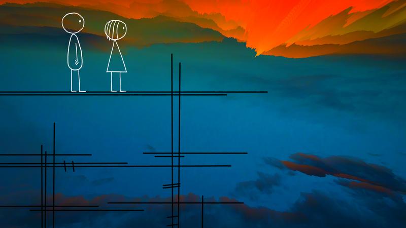 Futur  technologie et animation